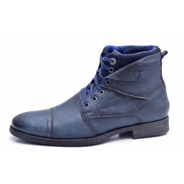 Bota Fork Calçados Tucson Azul. masculino e4d95a9a72e