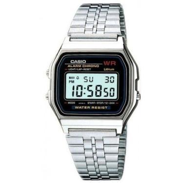 161241a955f8 Relógio Feminino Digital Casio Vintage A159Wa-N1Df - Prata