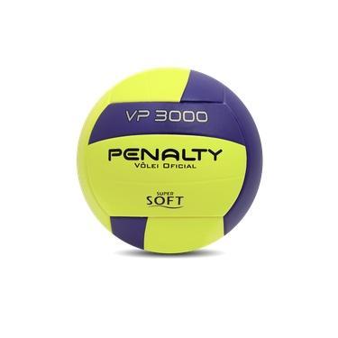 Bola De Vôlei Penalty VP 3000 - Amarela e Roxa
