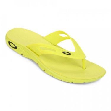 Chinelo Oakley Rest 2.0 Masculino - Amarelo