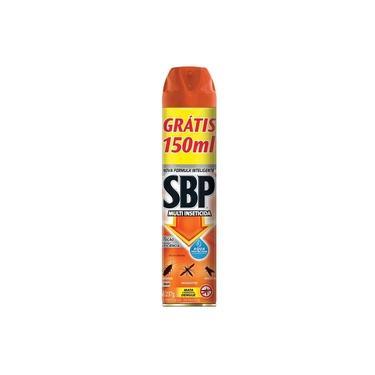 Multi-Inseticida em Aerossol SBP 450ml. Eficaz contra mosquitos, pernilongo, muriçoca, mosca, barata, aranha e pulga.