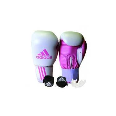 c6afd2255e Kit Luva de Boxe Muay Thay Adidas Response + Bandagem Preto 2