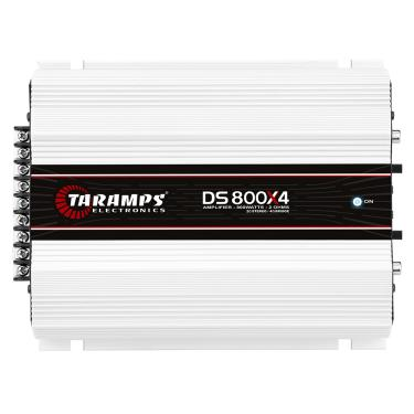 Módulo Taramps Ds 800x4 800w Amplificador Automotivo Módulo Taramps Ds 800x4 2 Ohm 800w Amplificador Automotivo