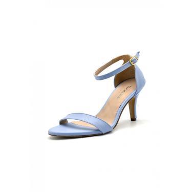 Sandália Gasparini Tiras Azul Bebe  feminino