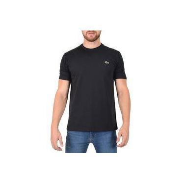 Camiseta Masculina Básica Sport - Preta - Lacoste 11726f0e1fb