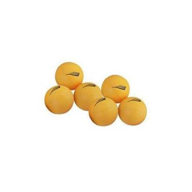 Bolas p/ Ping Pong 40mm - 6 Unidades - Nautika - Laranjado