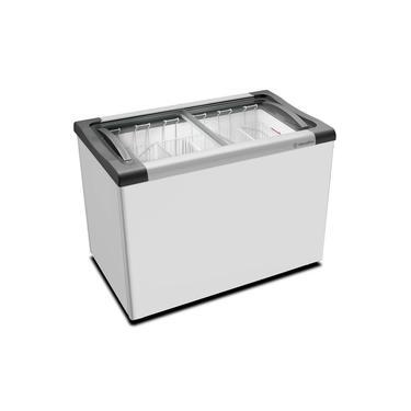 Freezer Horizontal Congelados Tampa Vidro 223 Litros NF30S - Metalfrio