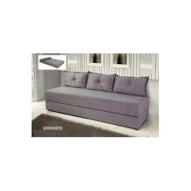 sofa cama bicama cinza