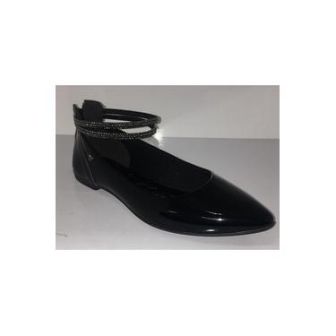 Sapato Feminino Mississipi Mandang Preto Verniz Q2252