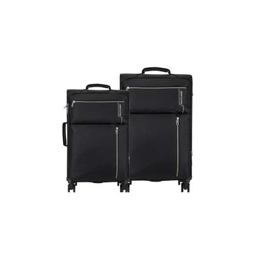 Conjunto de Malas Travel Bags 4 Rodas 20/24 Polegadas Multilaser BO421 Preto