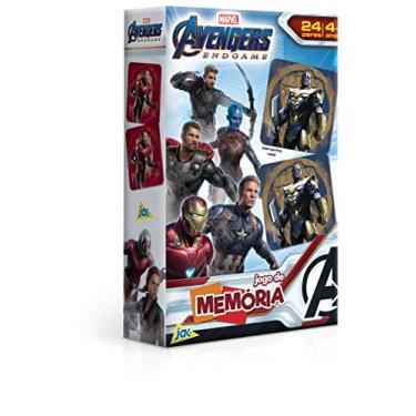 Imagem de Os Vingadores Ultimato - Jogo de Memoria, Toyster Brinquedos, Multicor