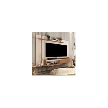 Painel para TV até 60 polegadas Classic Prime com 2 Portas e Prateleira