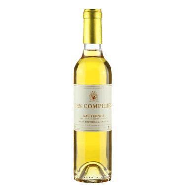 Meia Garrafa Vinho Branco Francês Sauternes Chateau Des Comperes 375Ml 2017