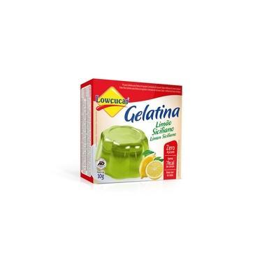 Imagem de Gelatina Limão 10G Lowçucar