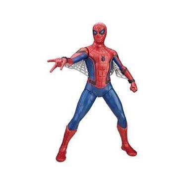 Boneco Eletrônico Hasbro Marvel Homem Aranha