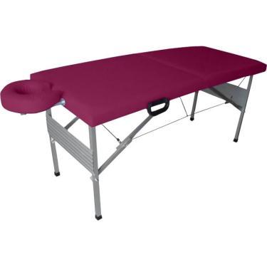Imagem de Maca Dobrável Portátil Tipo Mala Massagem  Estética Design
