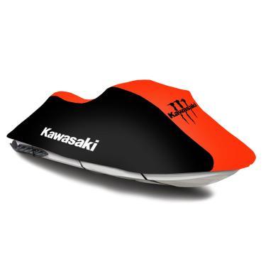 Capa para Jet Ski Kawasaki Logo Monster - Todos os Modelos