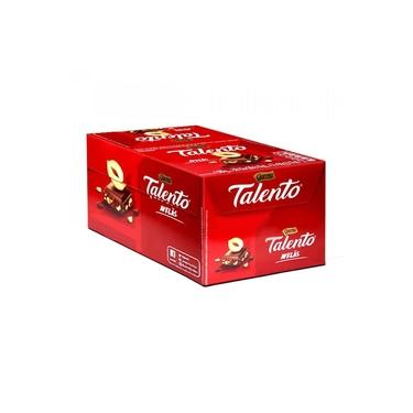 Tablete Talento Vermelho Avelã 90g c/12 - Garoto