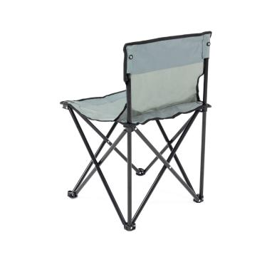 Cadeira De Camping Dobrável Bel Fix Araguaia Premium Cinza