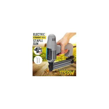 Imagem de Drillpro 1750 W Reta Elétrica Pistola de Pregos Ferramenta para Trabalho Pesado para Madeira Grampo Elétrico Prego Tacker Elétrico Gu Fit para F05-F30