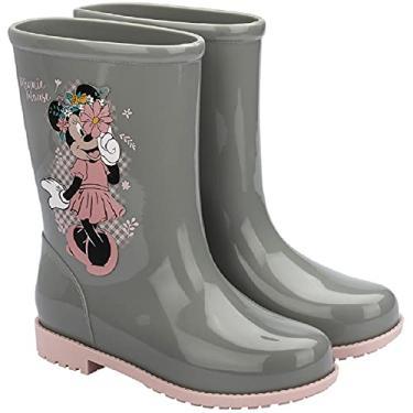Imagem de Galocha Infantil Minnie Flower Disney Grendene Kids Verde