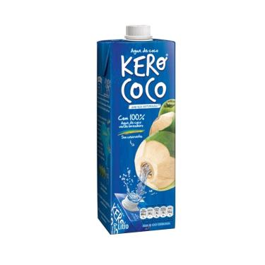 Imagem de Água de Coco Kero Coco 1L Embalagem com 12 Unidades