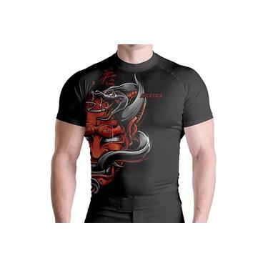 Imagem de Rash Guard Comp Red Samurai Térmica Proteção ATL