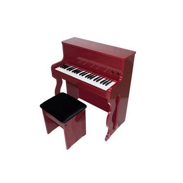 Albach Pianos Infantil Bordo - Brinquedo de Luxo e Elegância