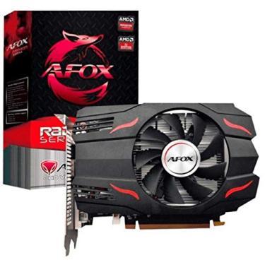Placa de Vídeo AMD RX 550 4GB 128 bits GDDR5 AFOX - AFRX550-4096D5H3