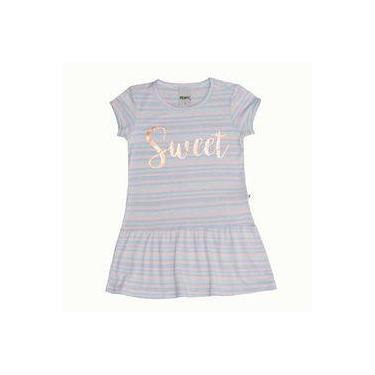 Vestido Sweet Listrado - Minore