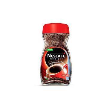Café Solúvel Nescafé Tradição Vidro 100g