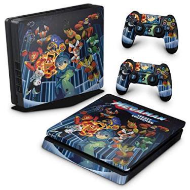 Skin Adesivo para PS4 Slim - Megaman Legacy Collection