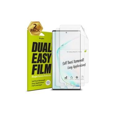 2x Película Ringke p/ Samsung Galaxy Note 10 (Tela 6.3) - Dual Easy