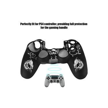 Para Nintendo Switch / Xbox 360 / PS4 Controller Capa protetora de silicone