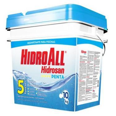 Imagem de Cloro Para Piscina 10kg HidroAll Hidrosan Penta