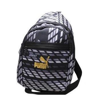 Bolsa Esportiva Puma Preto/Cinza Unissex Bolsa Esportiva