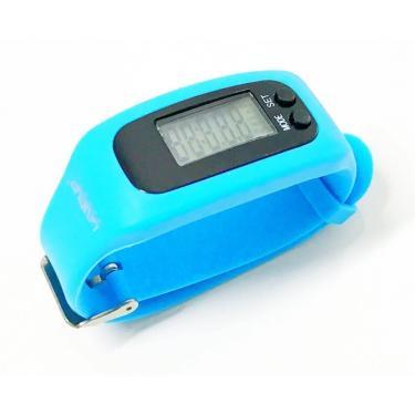 Relógio Pedômetro Liveup - Azul