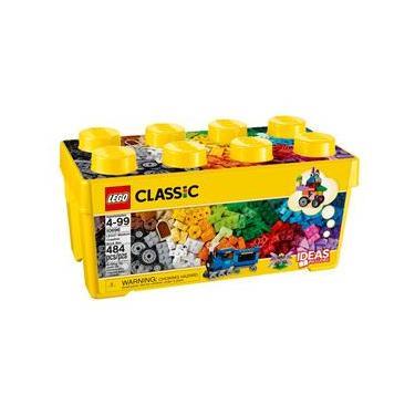 LEGO Classic - Caixa Média de Peças Criativas - 484 Peças