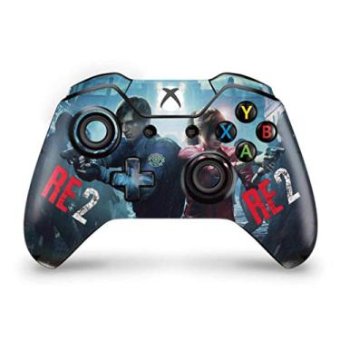 Skin Adesivo para Xbox One Fat Controle - Resident Evil 2 Remake