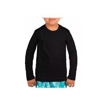 Camisa Termica Akira Fitness Proteção UV 50 Infantil Manga Longa Unissex