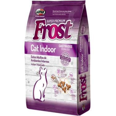 Ração Seca Supra Frost Cat Indoor Gatos Adultos, Castrados ou de Ambientes Internos - 1 Kg