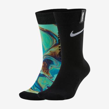 Meia Nike SNKR Sox Essential (2 Pares)