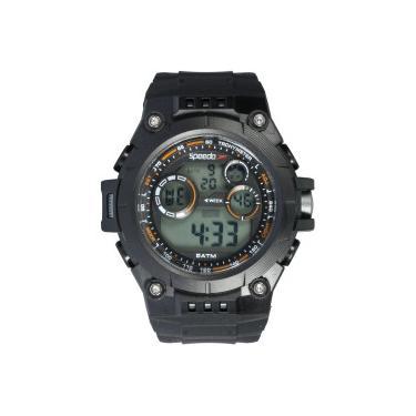 e80afd0084d Relógio Digital Speedo 81174G0 - Masculino - PRETO Speedo