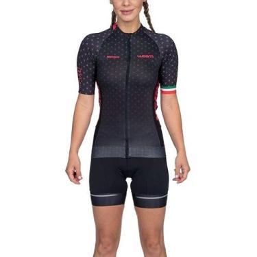 Camisa De Ciclismo Woom Supreme Rosa Feminina Coleção 2020