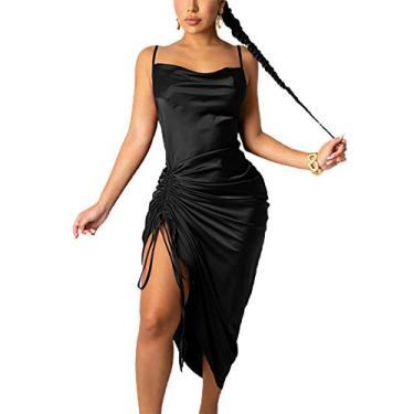 Cruet Vestidos de praia femininos de verão, vestidos plissados sem mangas, suspensórios de verão para praia, tecidos sedosos, confortáveis