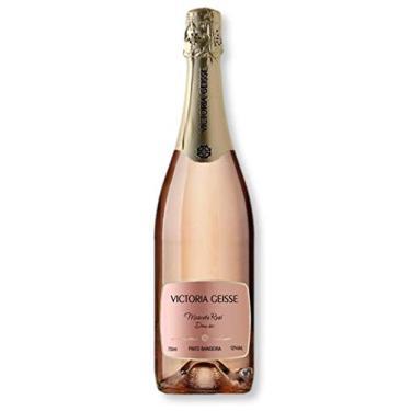 Espumante Victoria Geisse Moscato Rosé Demi Sec 750 Ml