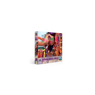 Imagem de Quebra Cabeça Puzzle 1000 Peças Cores da Ásia Índia Toyster