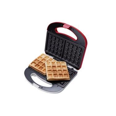 Máquina De Waffles Waf100 Cadence Vermelha 220v