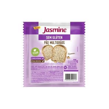 Pão Sem Glúten Multigrãos Jasmine 175g