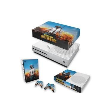 Capa Anti Poeira e Skin para Xbox One S Slim - Players Unknown Battlegrounds Pubg